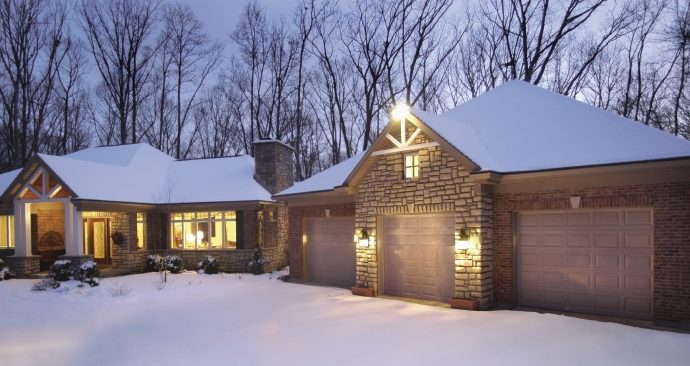 What To Do If Your Garage Door Is Frozen Shut A All Style Garage Door