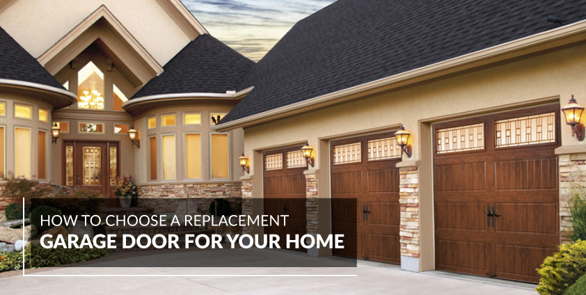 How To Choose A Replacement Garage Door A All Style Garage Door