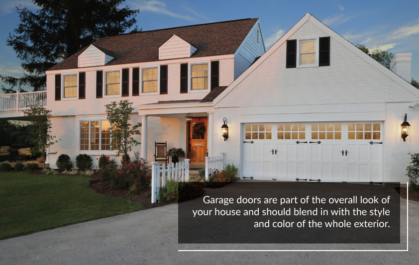 How to Match Garage Door to Your Home's Style