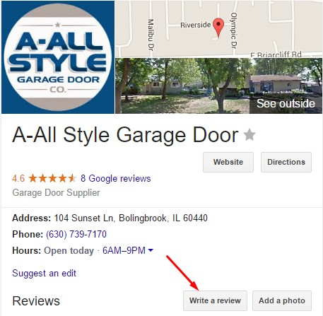 google plus a-all style door