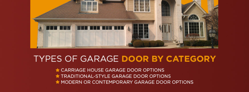 Types of Garage Door by Category