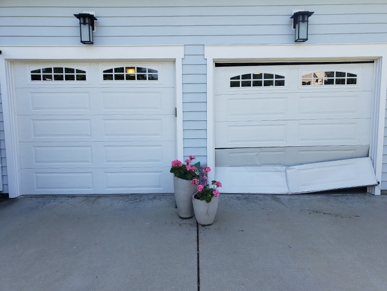 Garage Door Before And After Photos A All Style Garage Door