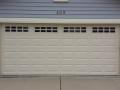 white garage door custom