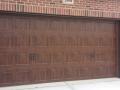 custom rectangle double garage door