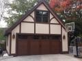 double barn style garage door