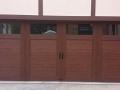 four window barn style garage door